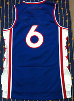 Wholesale jersey blue basketball jersey all name number stitched