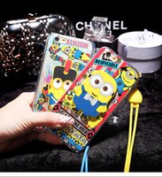 best iphone armbands - Best For Apple IPhone D Cartoon Phone Case Cheap Fitted Case Armband Kickstand Dirt resistant TPU Yellow Minion Cases