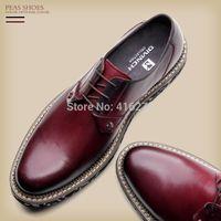 Wholesale autumn Business dress shoes casual leather men s genuine leather fashion shoes male casual shoes low single shoes