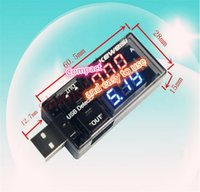Wholesale USB charging current and voltage tester mobile power supply voltage and current test Charger or car charging data line detector OEM for you