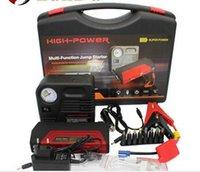 air compressor starter - LunDa v emergency car jump starter mah multi function battery charger v car starter air compressor