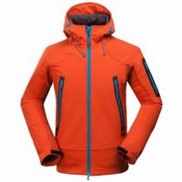 Wholesale High Quality Popular Elephant Men Softshell Jackets For Camping Hiking Outdoor Waterproof Breathable Mountaineering Coats Hunting Overcoat