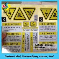 Wholesale Custom vinyl stickers waterproof sticker paper roll sticker