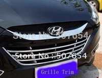 Wholesale For Hyundai Tucson IX35 High quality Grille Cover Grille trim Air Vent Cover