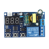 ac delay timer - AC V Digital LED Display Automation Delay Timer Low Level Efficient Control Relay Switch Module Practical Timer Module