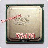 cpu processor intel - Original For Intel Xeon X5470 CPU processor GHz LGA771 MB L2 Cache Quad Core FSB server CPU