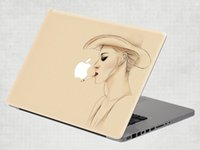 Wholesale Fashion Cool Removable Vinyl Decal Sticker Skin for Apple Macbook Air Pro inch
