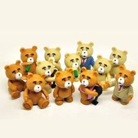action figures display - NEW Arrive Ted Teddy Bear Action Figures Display Cake Topper Decor Kid Child Adult Boy Toy