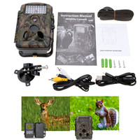 Wholesale 940nm IR LED Night Vision Video Recorder Wildlife Hunting Camera MP HD Digital Infrared Scouting Trail Camera Y1612