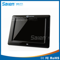 Wholesale Top Quality quot HD TFT LCD Digital Photo Frame with Alarm Clock Slideshow MP3 MP4 Player USB Remote Control