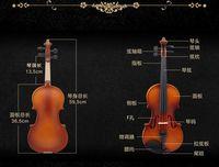 Wholesale Genuine light violin Yiwu Philharmonic violin instruments