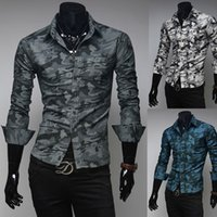 Cheap 2015 New Winter Camouflage Military Bionic Men Casual Shirts, Men's Long-Sleeved Camisa Masculina M ~ XXL