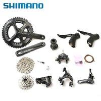 Wholesale 2014 New Original SHIMANO Ultegra Road Bike Groupset T speed mm Black