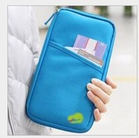 bankbook pocket organizer - New Organizer Multi Bag Canvas Traveling Handy Bag Card Wallet Bankbook Pocket