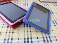 Cheap Wholesale-Cheapest 7 inch Quad Core Q88pro Allwinner A33 Dual Camera Android 4.4.2 512MB 8GB tablet pc Hot sell!free shipping!Big discount