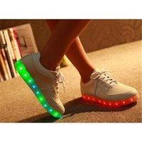 Cheap Luminous Casual Shoes Best LED Light USB Charging
