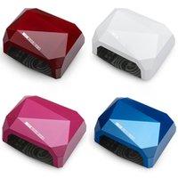 Wholesale Nail Lamp Diamond Shape LED CCFL Nail Dryer Nail Art Machine UV Gel LED Lamp Nail Polish Light Nail Tools