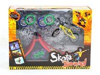 bicycle mini deck - 2015 Fingerboard finger bicycle bike runway originality intellectual mini toys Tech Skateboard Stunt Ramp Deck site kids gift