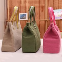 Wholesale Lunch Bags Cooler Insulated Lunch Bag For Kids Women Men Thermal Insulation Cosmetic Organizer CM ZD0017 Salebags