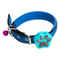 Wholesale Mini GPS Tracker with Collar Rastreador for Pet Dog Real Time Tracking by SMS Android iOS App RF V30