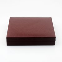 Wholesale Brown Color Vellum Large Space Gift Giving Collection Box