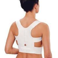 Wholesale w1025 Best seller Magnetic Posture Support Corrector Back Belt Band back support for Sport Safety