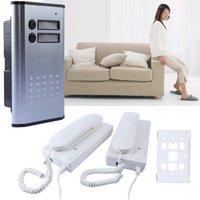 Wholesale NEW V Villa Non visual Intercom Access Unlock Audio Home Door Phone Bell