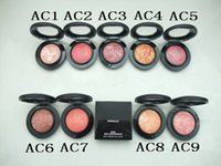 Wholesale HOT New Brand M Makeup Mineralize blush g high quality color choices