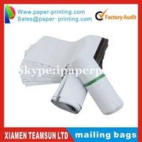 Wholesale cmx34cm White Self seal Mail bags Plastic Envelope Courier Destructive Postal Mailing Bags