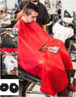 Wholesale Factory Hairdressing Tools Transparent Barber Wai Cloth Haircut Cape for Hair Salon B05001 XX