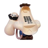 Wholesale piece Big Nose Telephone Corded Landline Phone cartoon mini phone