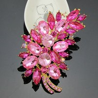 amber jewelry insect - The new multi color fashion pink feather brooch corsage collar pin accessories holding flowers jewelry accessories of choice