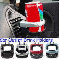 Wholesale New Portable Auto Car Air Condition Outlet Can Drinking Water Bottle Coffee Cup Mount Stand Holder Promotion
