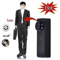 Wholesale Mini S918 HD Spy Button DV Video Recorder Mini Hidden Camera with Vibration function and TF Card Slot gb Shirt Button Camera Retail