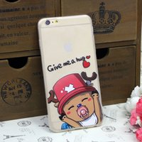 case bb - Cell Phone Case For iPhone Plus Transparent ONE PIECE Joe BB Pattern Skin Cover Case