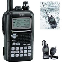 icom walkie talkie - ICOM IC AD two way radio amateur business hand held durable w gps digital ham radio IC AD walkie talkie