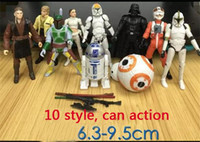 Wholesale Star Wars The Force Awakens Figurine Playset Styles set Super Deformed BB Stormtrooper Figurine Movers Shakers in Toys