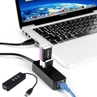 Wholesale New High Quality Port USB Hub Mbps RJ45 Gigabit Ethernet LAN Wired Network Adapter For Windows for Mac Linux