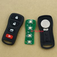 altima remote - N0080 Remote car key fob button Mhz KBRASTU15 for NISSAN Armada Maxima Altima Remote Alarm