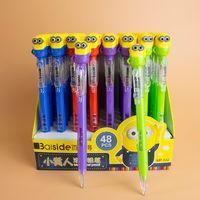 Wholesale 2015 Kids pencils Despicable Me Children Students Kids Plastic Cartoon Automatic Propelling Pencil For School Station