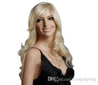 good quality wigs - Blonde wig synthetic wigs Lolita wig curly hairstyles for long hair drag queen for women cheap good quality wity wigs European style pelucas