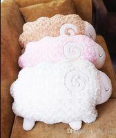 alpaca throws - Japan Aunt Merry rose fragrance alpaca plush cushion pillow lamb cushion sofa sheep throw pillow home decorative gifts