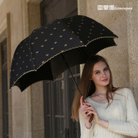 big parasol - 2016 New umbrella big High quality three fold umbrellas for rain Automatic umbrella parasol