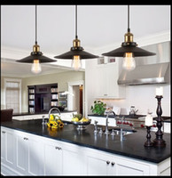 Wholesale Hot Sale Edison Bulb Vintage Industrial Lighting Copper Lamp Holder Pendant Light American Aisle Lights Lamp v v Light Fixtures
