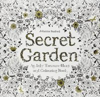 Wholesale Hot Sale Secret Garden An Inky Treasure Hunt and Coloring Book Adult Children Relax Graffiti Painting Book