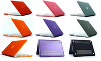 Wholesale Frosted Rubberized Translucent Front Back Hard PC Case Cover for Macbook Mac Laptop Notebook for Air inch Pro Retina