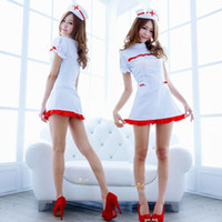 Wholesale Halloween costumes female DS nightclub costumes cosplay costumes dress sexy nurse uniforms temptation