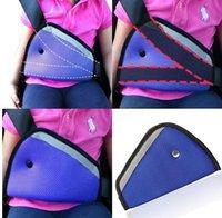 Wholesale 2015 colors car Safe Fit Seat Belt Adjuster car safety belt adjust device baby child protector positioner Breathable A0256