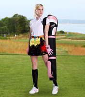 Wholesale Fashion Digital printing does not fade Ms golf skirt