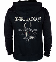 bathory shirt - Bathory Band Cotton Hot Sell Rock hoodies autumn winter jacket high quality brand shirt punk death dark metal